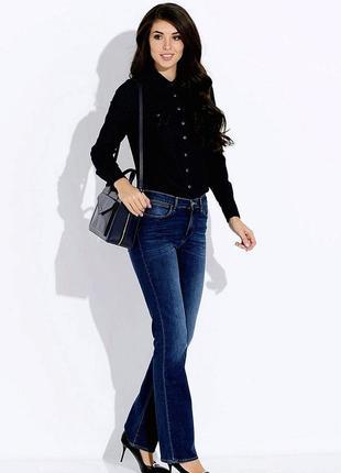 Wrangler  джинсы c высокой посадкой обхват пояса 76-78 см.