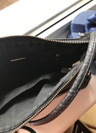 Чёрная сумка клатч3
