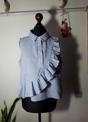 Красивая рубашка-майка missguided