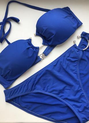 Синий купальник morgan