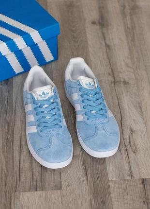Женские кроссовки adidas gazelle (36, 37, 39, 40 размеры)3 фото