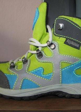 Демисезонные термо ботинки mckinley aquamax р. 30, ст. 19 см. отличное состояние