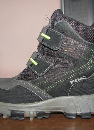 Демисезонные ботинки meindl nasseschutz р. 28, ст. 17, 5 см.