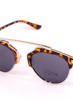 Очки. солнцезащитные очки. очки в стиле dior soreal. 9010-3. круглые очки