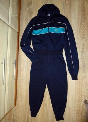 Сдельный спортивный костюм, комбинезон puma. оригинал! на 10-15 лет