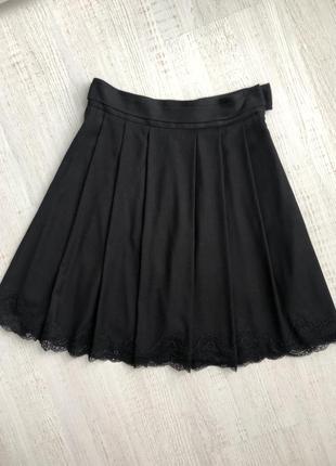 Шикарная юбка с кружевом