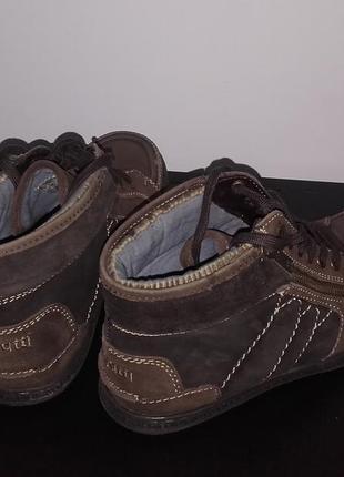 Демисезонные кеды ботинки bugatti