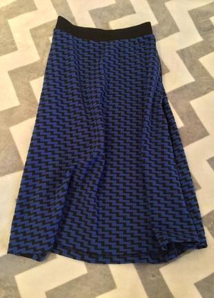 New юбка миди полусолнце reserved