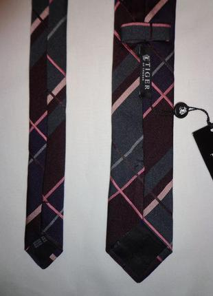 Tiger of sweden галстук мужской новый с бирками италия шёлк оригинал