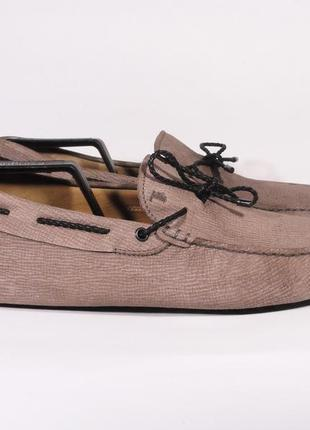 Мокасины туфли tod's размер 45 / 29 см лоферы оригинал