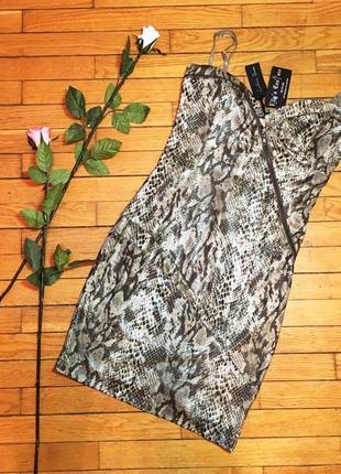 Платье caribbean queen змеиная кожа размер s