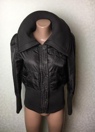 Крутая куртка утеплённая коричневая!