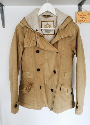 Утепленная джинсовая куртка со съемной подстежкой
