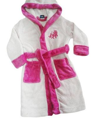 Тёплый халат lupilu на девочку 3-6 лет. замеры.