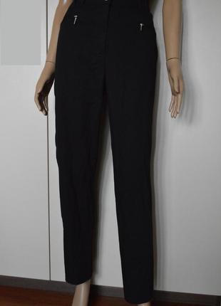 Штаны,брюки чинос, черные. высокая посадка.sixth sense