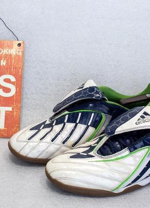 Сороконожки бампы или футзалки adidas размер 43-44 стелька 27,5 см
