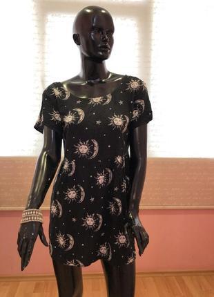 Платье, с завязками на спине, вискоза 100% бренд motel rocks, размер м