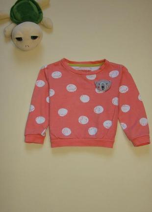 Классный свитшот свитер кофта tu 1,5-2 года