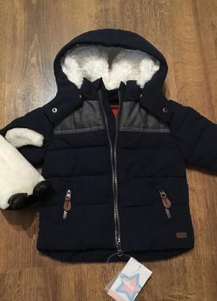 Фирменная куртка для мальчика cycleband на 6 месяцев