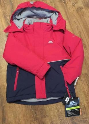 Фирменная куртка для мальчика/девочки на 3/4 года trespass
