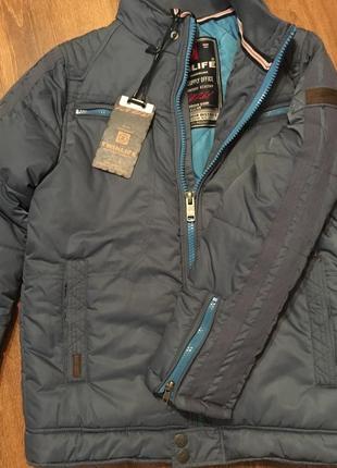 Оригинальная фирменная куртка на подростка 12-14 лет/164 twinlife