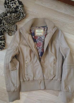 Куртка искуственная кожа