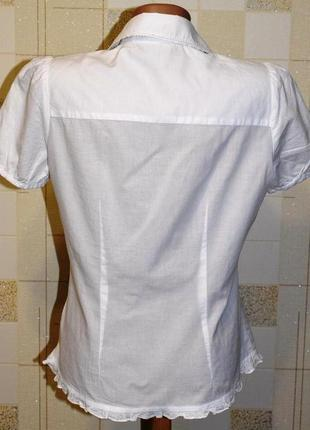 Блузка - вышиванка от george, вышитая крестиком5 фото