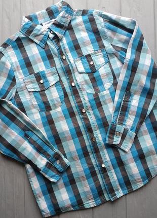 Рубашка на мальчика 134-140 см