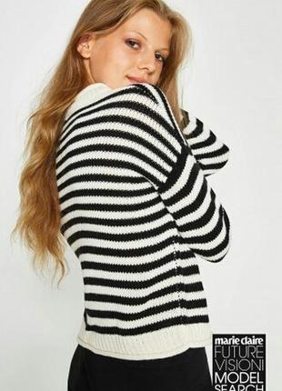 Очень классный обьемный свитер оверсайз бренд ovs оригинал