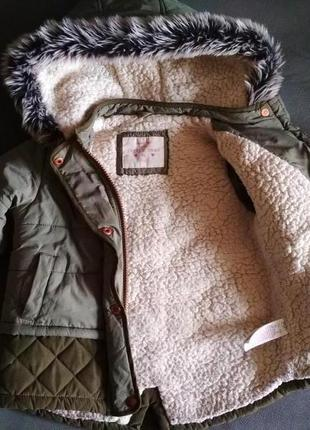 Парка f&f, куртка демисезонная, курточка 12-18 мес 86 см2 фото