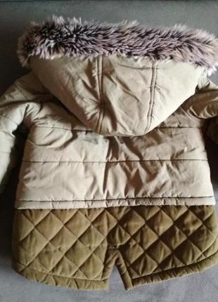 Парка f&f, куртка демисезонная, курточка 12-18 мес 86 см5 фото