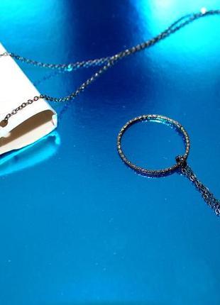 Бижутерия s.oliver цепочка кулон