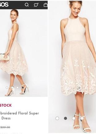 Торжественное платье/ выпускной, свадьба/ asos.