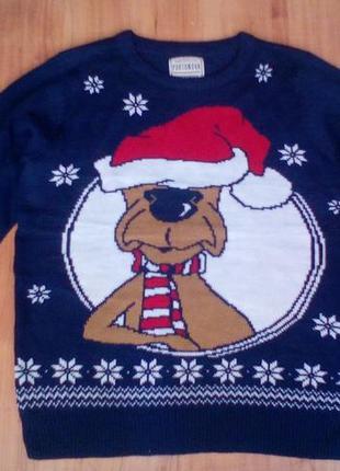 Новогодний, рождественский свитер, свитшот