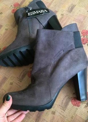 Распродажа! стильные ботинки esmara 40р