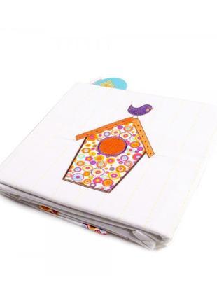 Комплект постельного белья детского carre blanc lou-hc+to белого цвета