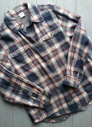 Рубашка на мальчика 9-10 лет 140 см