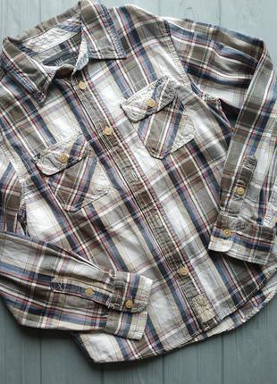 Рубашка на мальчика 11-12 лет h&m
