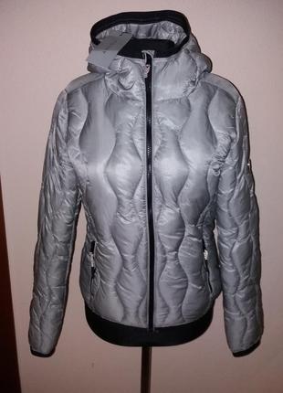 Куртки деми amisu  капюшон остатки в размерах