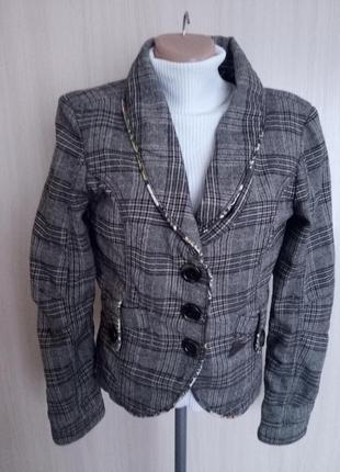 Крутой пиджак р.46/48 freesoul на стройную модницу