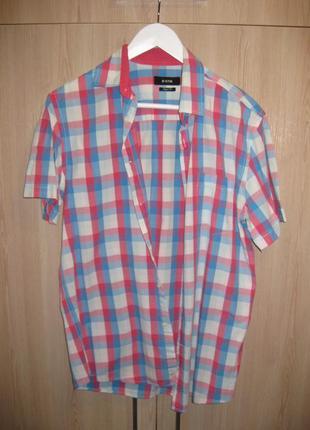 Рубашка мужская ostin , размер м.