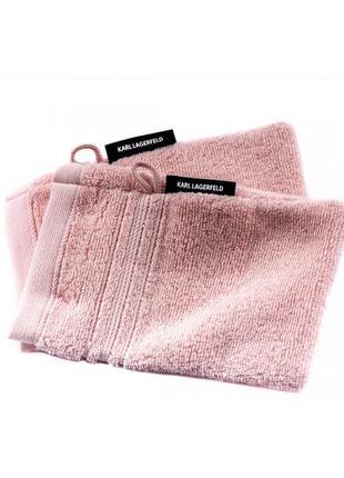 Варежки для душа (комплект из двух единиц) karl lagerfeld klt00031 розовые