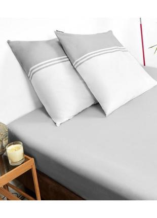 Комплект постельного белья karl lagerfeld klt00048 белого/серого цвета