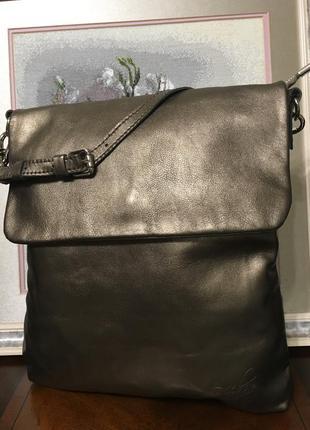 Красивая сумка от facebag натуральная кожа