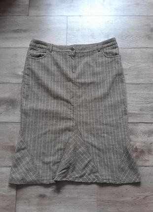 Шерсть кашемир. тренд. стильная юбка jigsaw. оригинал