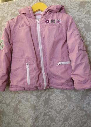 Детский комбинезон libellule (baby line), демисезон куртка + брюки на подтяжках, 92 р.
