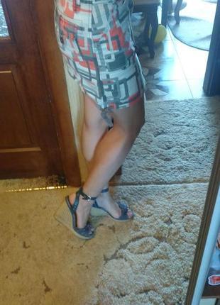 Летняя коттоновая юбка colins