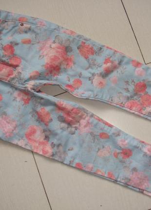 Яркие джинсы 4-5лет