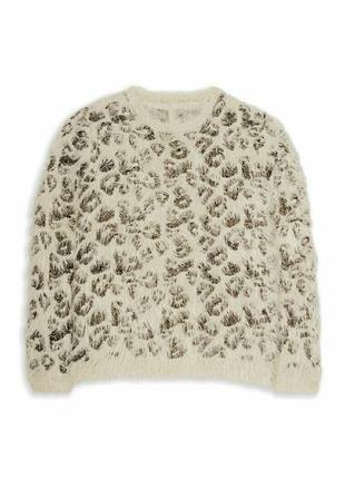 Пушистый свитер джемпер young dimension