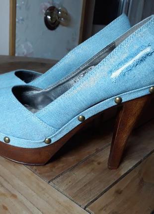 Коттоновые туфли.
